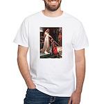 Princess & Cavalier White T-Shirt