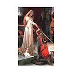 Princess & Cavalier Sticker (Rectangle)