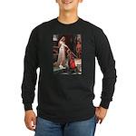Princess & Cavalier Long Sleeve Dark T-Shirt
