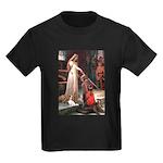 Princess & Cavalier Kids Dark T-Shirt
