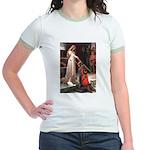 Princess & Cavalier Jr. Ringer T-Shirt