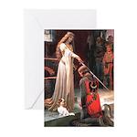 Princess & Cavalier Greeting Cards (Pk of 10)