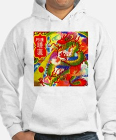Vintage Chinese Dragon Jumper Hoody
