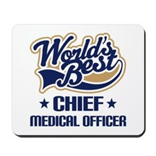 Chef medical officer Mousepad