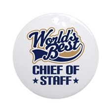 Chief of staff Ornament (Round)