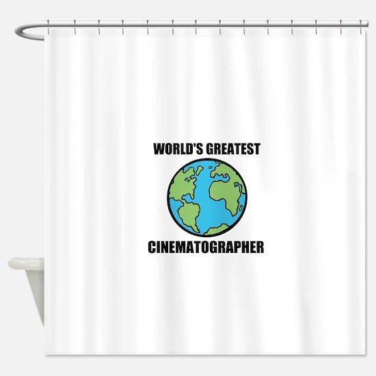 Worlds Greatest Cinematographer Shower Curtain