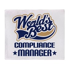 Compliance manager Throw Blanket