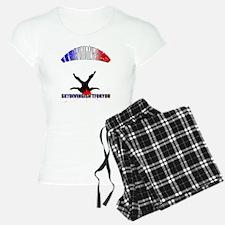 Skydiving Fail. Pajamas