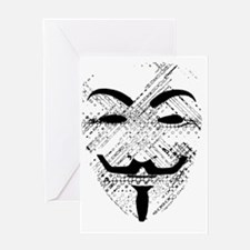 Vendetta. Greeting Card