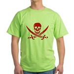 Pirates Red Green T-Shirt