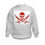 Pirates Red Kids Sweatshirt