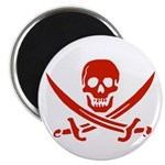Pirates Red Magnet
