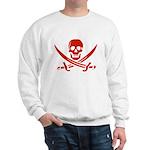 Pirates Red Sweatshirt