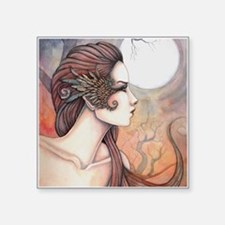 Spirit of Artemis Greek Goddess Fantasy Art Sticke