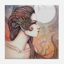 Spirit of Artemis Greek Goddess Fantasy Art Tile C