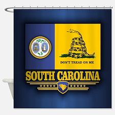 South Carolina DTOM Shower Curtain