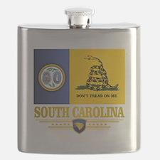 South Carolina DTOM Flask