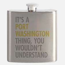 Its A Port Washington Thing Flask