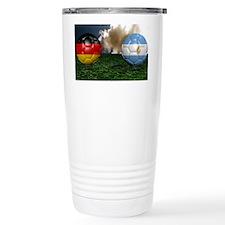 Soccer World Cup Final  Travel Mug