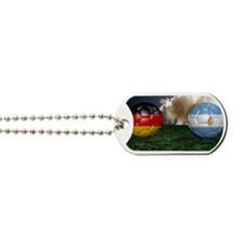 Soccer World Cup Final 2014 Dog Tags