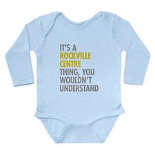 Its A Rockville Centre Long Sleeve Infant Bodysuit