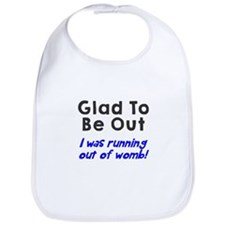 Running womb boy Bib