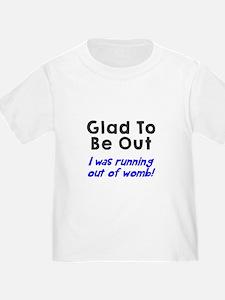 Running womb boy T-Shirt