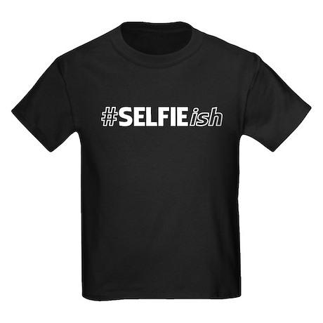 # SELFIE ish Kids Dark T-Shirt