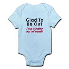 Running womb girl Body Suit