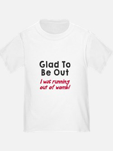 Running womb girl T-Shirt
