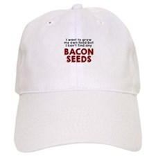 Bacon Seeds Baseball Baseball Cap