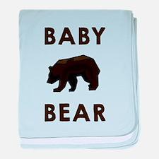 Baby Bear baby blanket