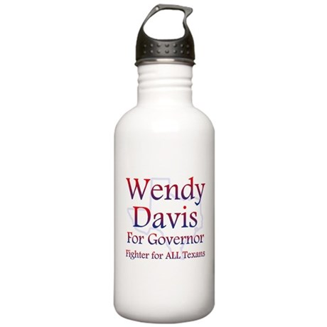 Wendy Davis for Governor Water Bottle