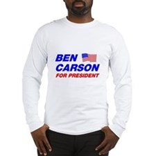 Ben Carson Shirt Long Sleeve T-Shirt