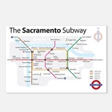 Sacramento Subway Postcards (Package of 8)