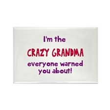 Crazy Grandma Magnets