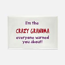 Crazy Grandma Magnets