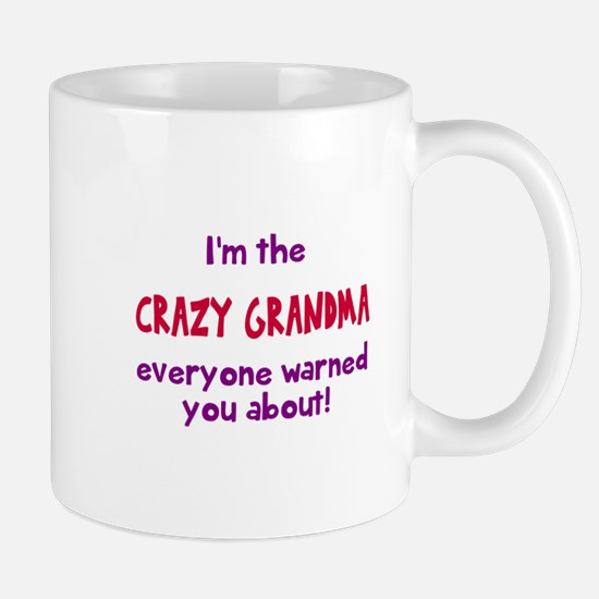 Crazy Grandma Mugs
