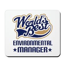 Environmental engineer Mousepad