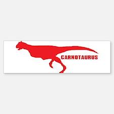 Carnotaurus Car Car Sticker