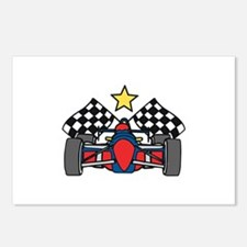 Formula One Racing Postcards (Package of 8)