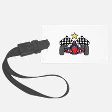 Formula One Racing Luggage Tag