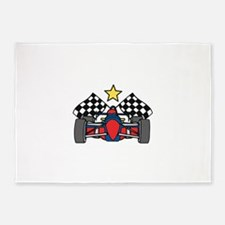 Formula One Racing 5'x7'Area Rug