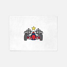 Formula One Racing 5'x7'Area Rug