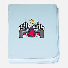 Formula One Racing baby blanket