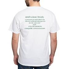 Irish Craic Head - Front And Back Design T-Shirt