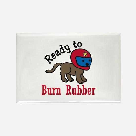 Burn Rubber Magnets