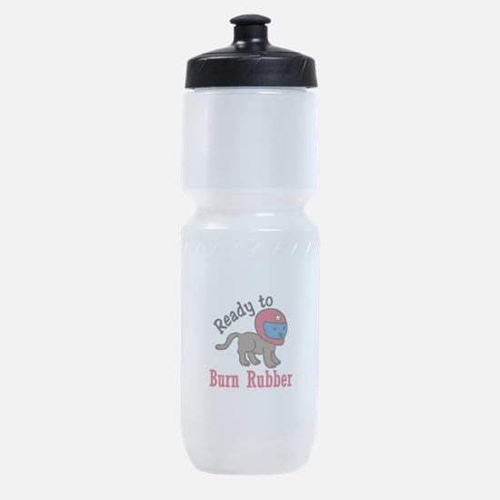 Burn Rubber Sports Bottle