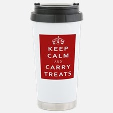 Keep Calm And Carry Stainless Steel Travel Mug