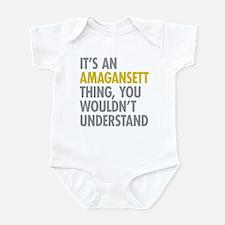 Its An Amagansett Thing Infant Bodysuit
